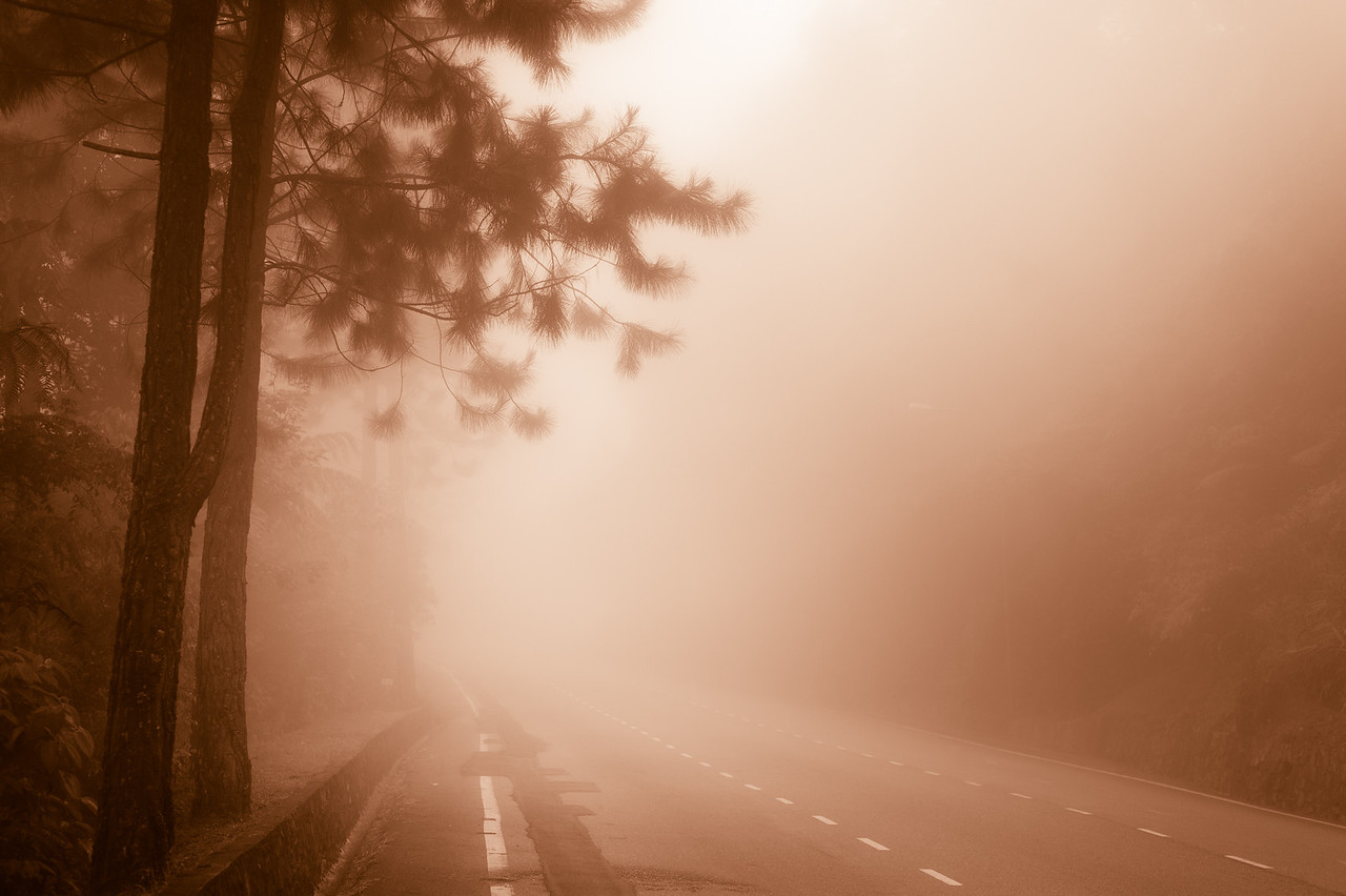  Somewhere  - along the road to nowhere..