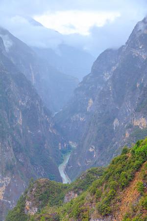 Canyon inside Canyon Canyon on Canyon Balagezong Grand Canyon, Shangri-La, Yunnan, China