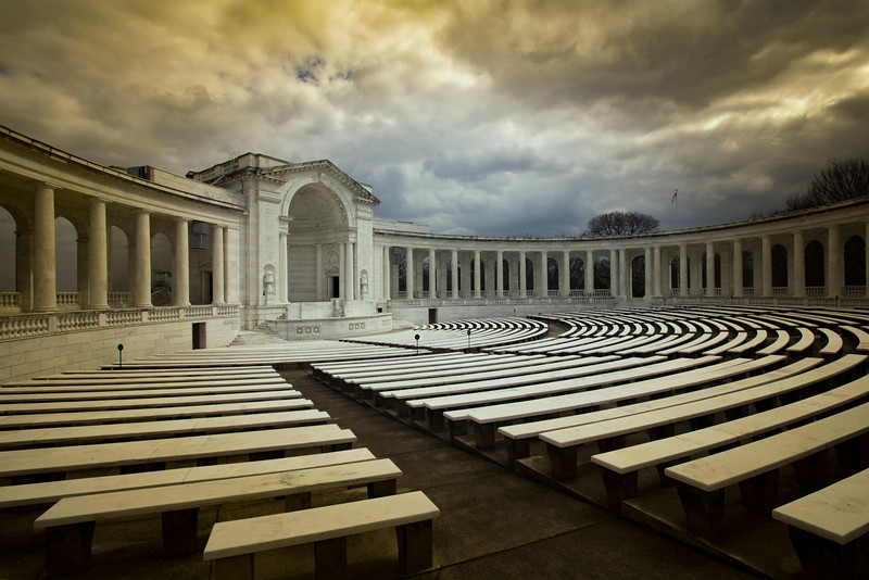 Memorial Amphitheater,  Arlington Cemetery