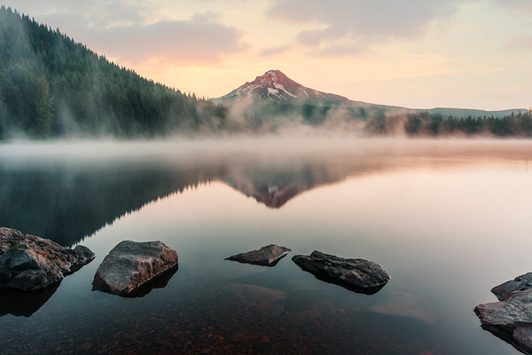 Trilium Lake - Oregon