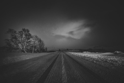 Rannoch Moor in a Blanket of Snow