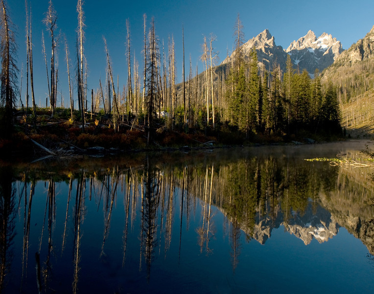 Cathedral Group Grand Tetons Wyoming