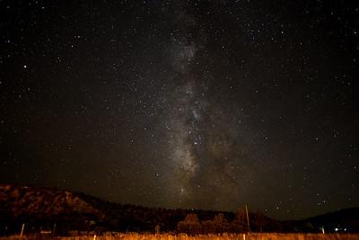 Bryce night sky