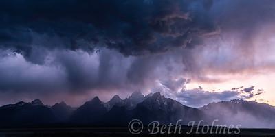 Purple Storm on the Tetons