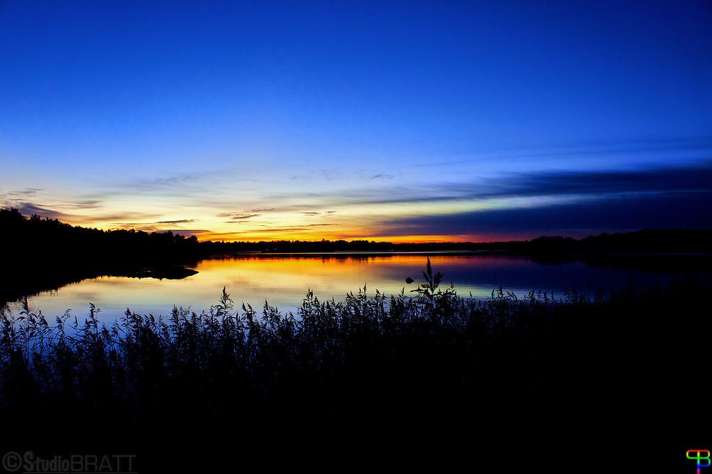 Sunset - Near Hallstavik