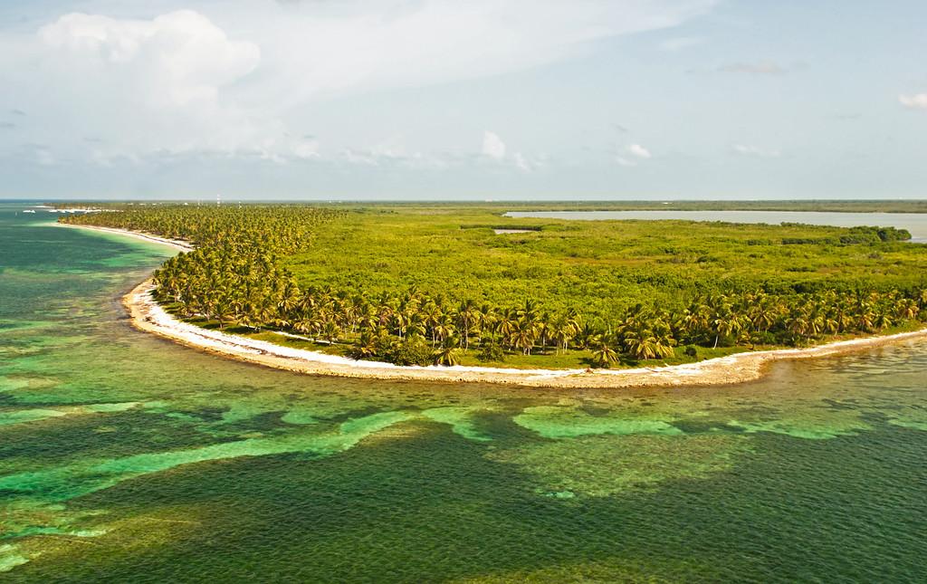 Caribbean land