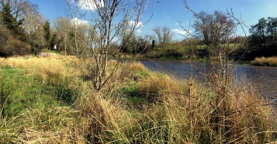 Alongside the River Dun at Hungerford