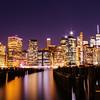 Lower Manhattan Evening Skyline