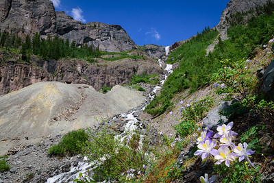 Telluride Falls near the old Pandora Mine