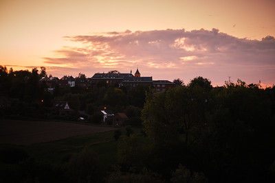 Virginal - Sunset over the bell tower