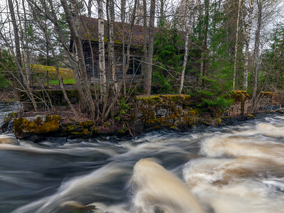 Abandoned mill