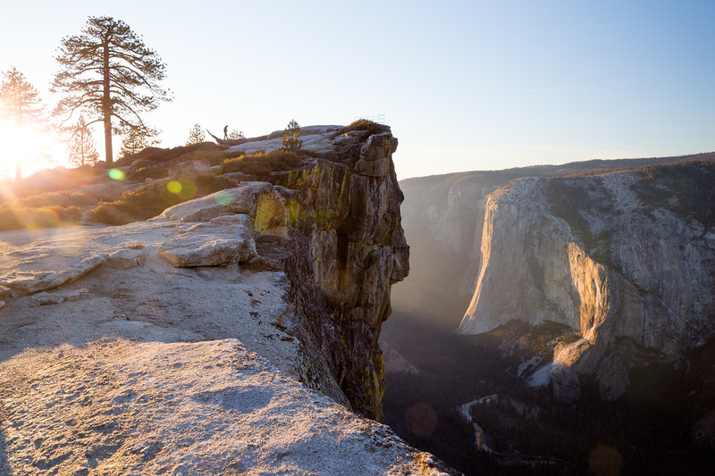 Sunset at Taft Point (February 2018)