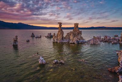 Sunset at South Tufa in Mono Lake