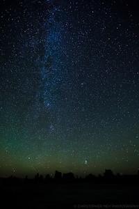 A Starry Night over Mono Lake