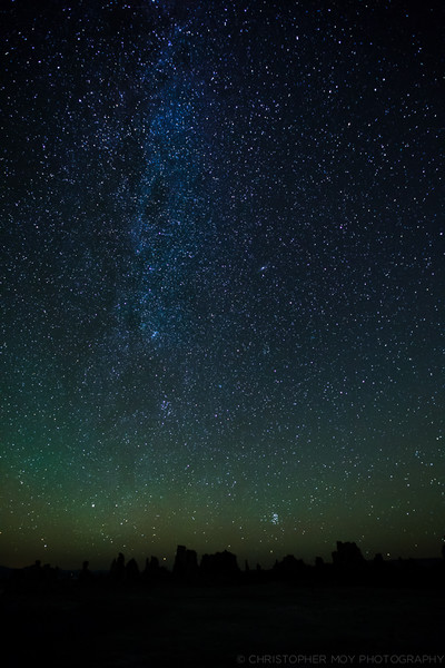 A Starry Night over Mono Lake