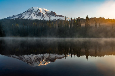 Mt Rainier Morning