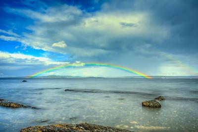 Rainbow Bridge. Kin Beach, Chemainus.