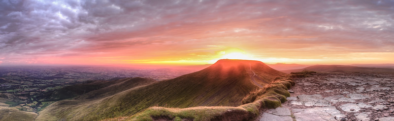 Dawn in the Beacons
