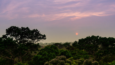 Sunrise over Tambopata