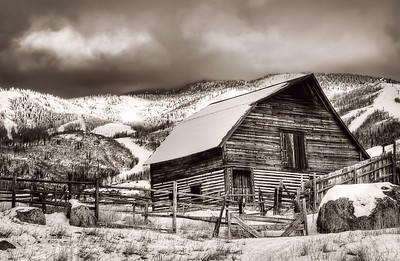 The Old Barn Limited Edition by Kat Walsh Photography