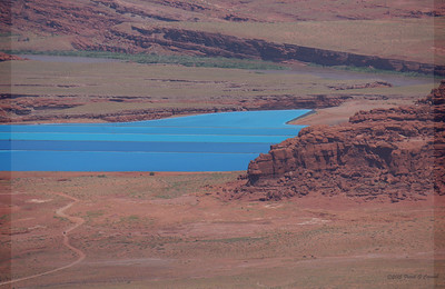 Potash ponds from Dead Horse Point