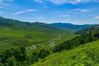 East River Basin north of Crested Butte