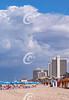 Cloudy Day on Tel Aviv Beach