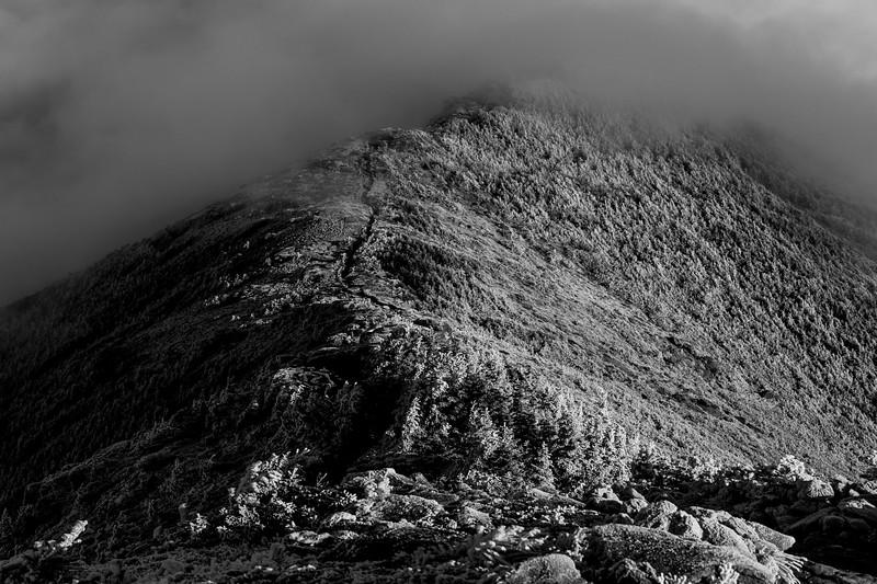 Franconia Ridge BW