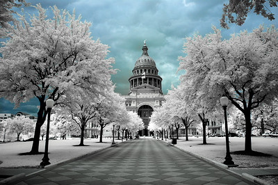 Austin Capitol color sky infrared_DSC1144