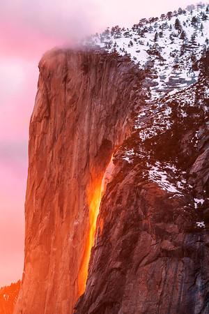 Horsetail Falls - Yosemite National Park