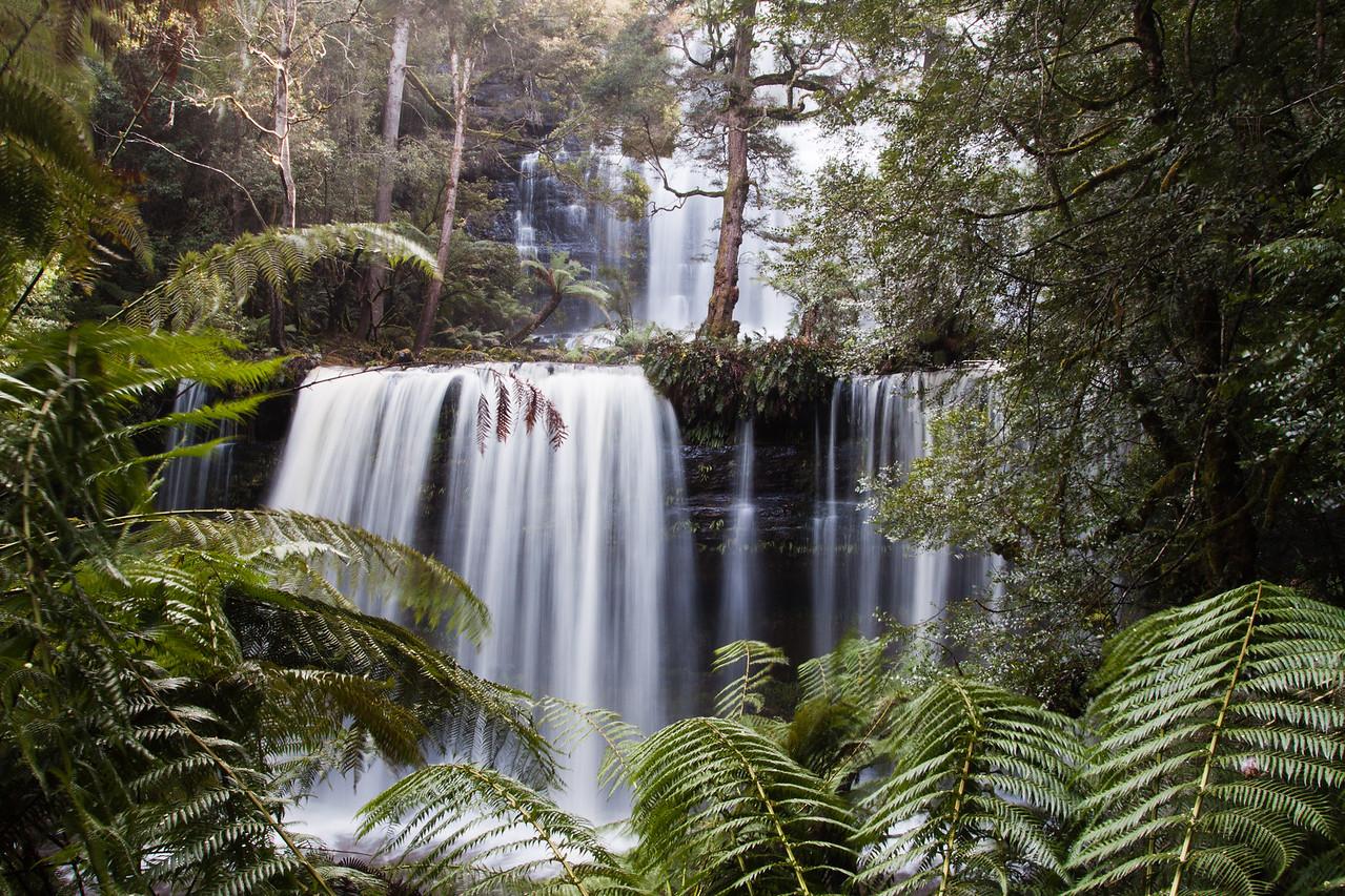 Russel Falls, Mount Fields National Park, Tasmania, Australia
