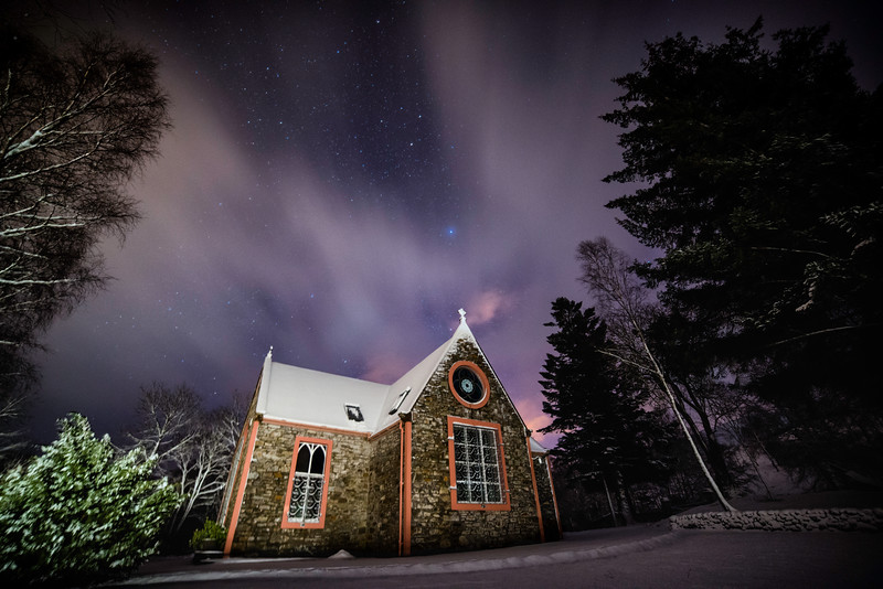 Church Beneath the Stars