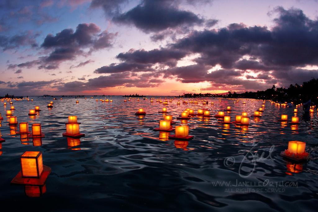 Floating Lanterns ©2012 Janelle Orth