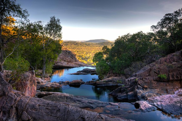 Gunlom Plunge Pool | Kakadu Australia