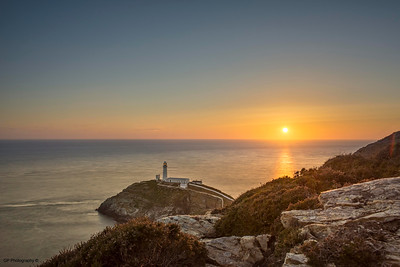 Southstack Lighthouse Anglesey Sunset