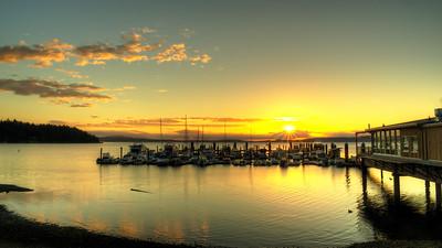 Mill Bay Marina Sunrise
