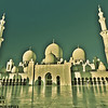 Abu Dhabi Grand Mosque 8am in the morning,,,,,,,,,,,,,,,,,,