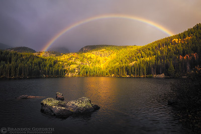Rainbow Over Bear Lake