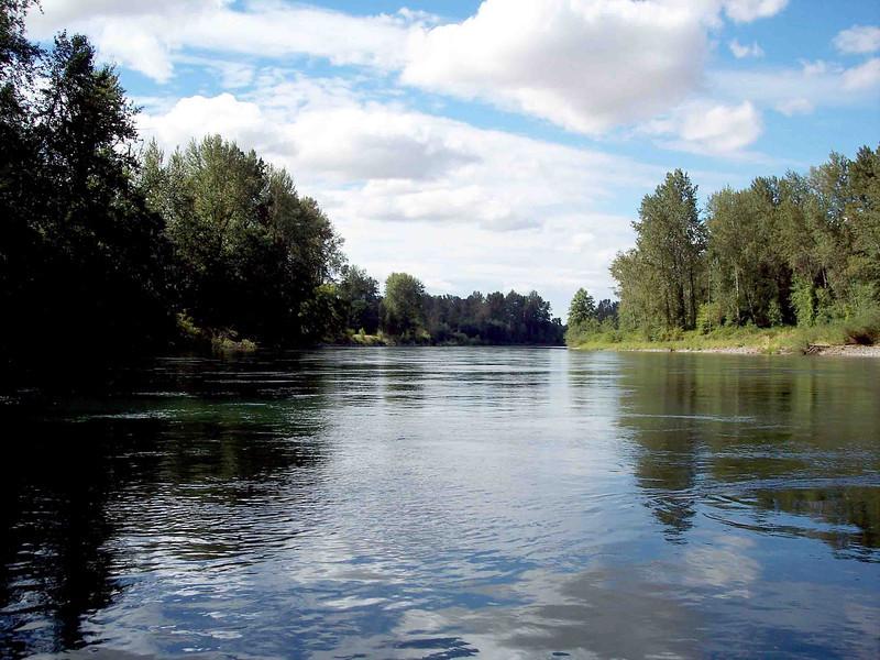 Willamette River North of Eugene, OR