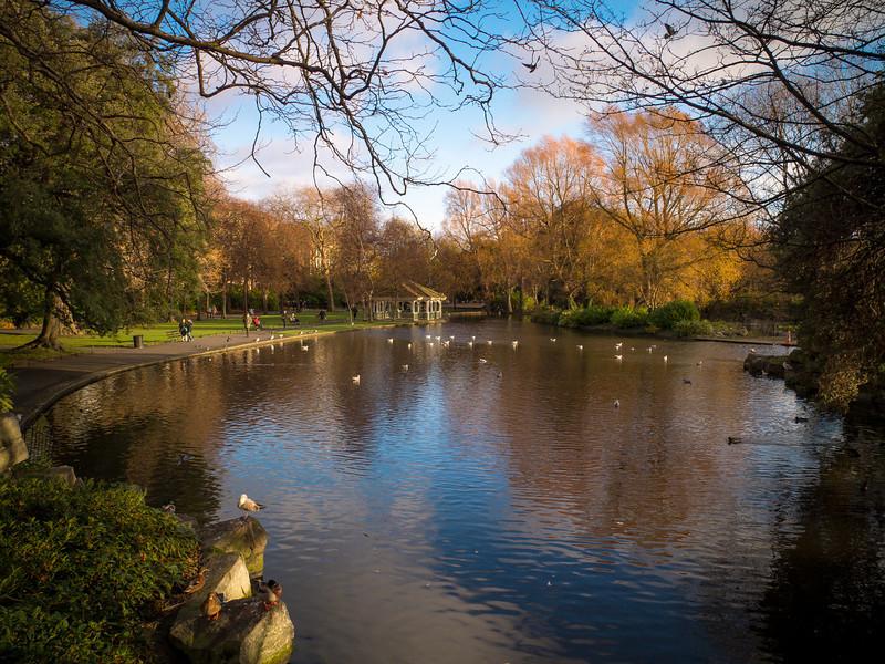 St. Stephen's Green Park, Dublin, Ireland