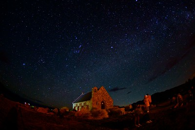 The stars at Lake Tekapo