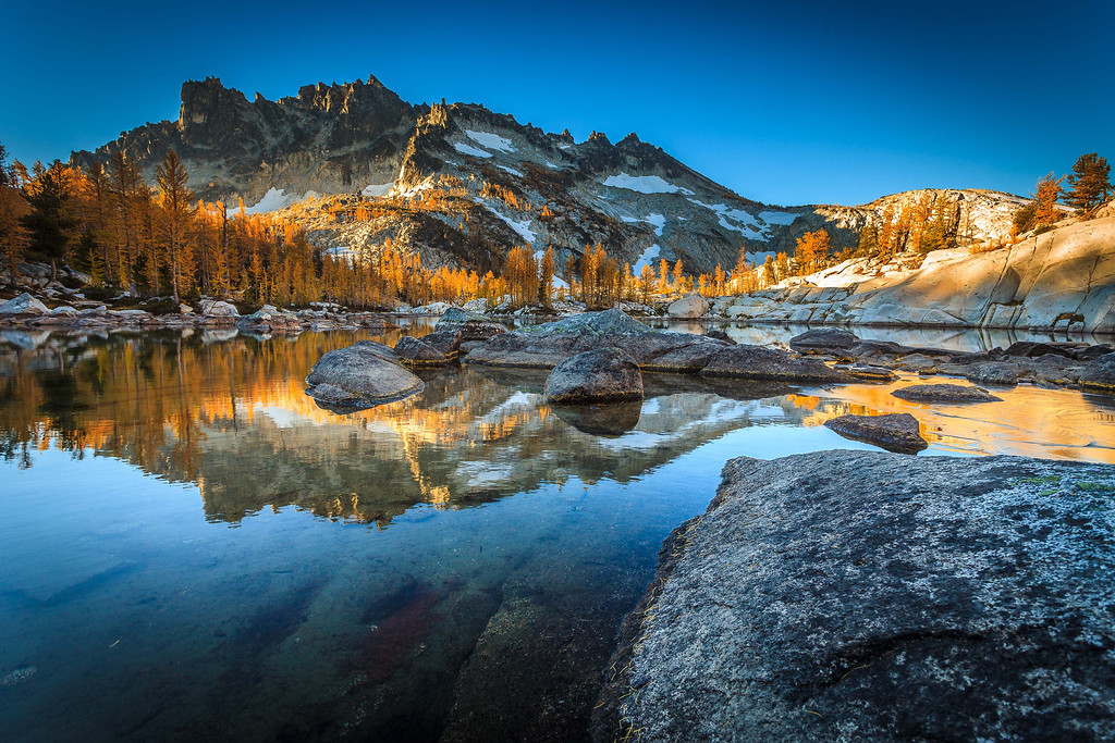 The Enchantments in fall.