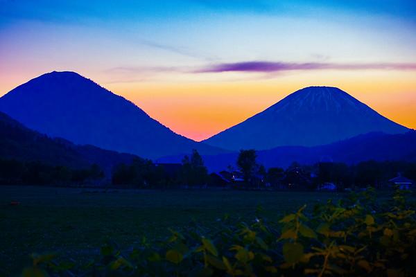Twilight, Mt. Yotei, Hokkaido