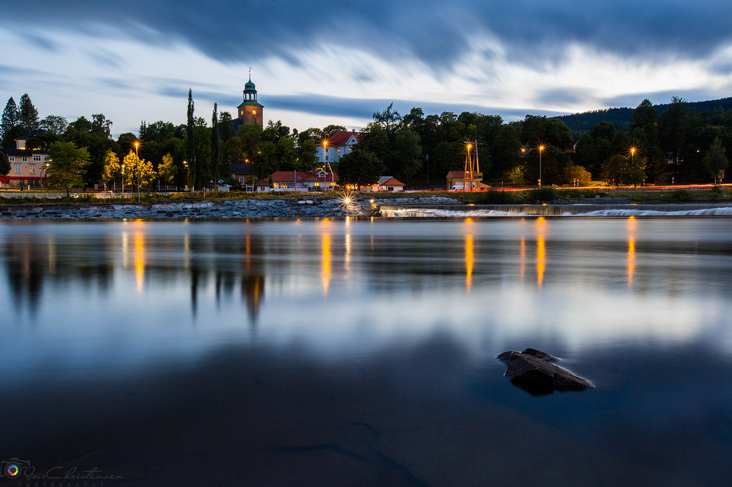 Kongsberg by the river