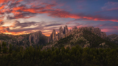 Skyline of the Black Hills.