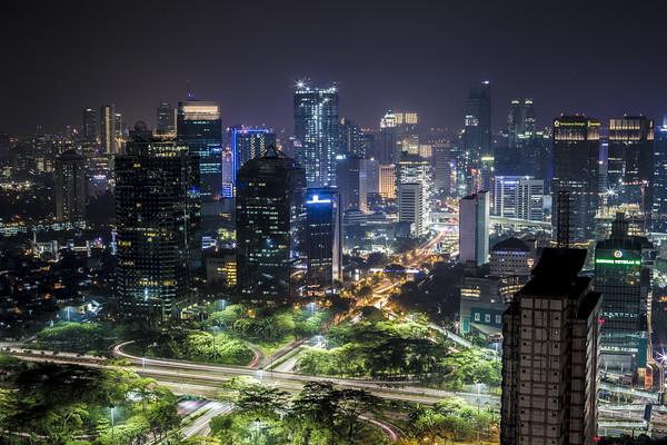 Nightscape of Jakarta