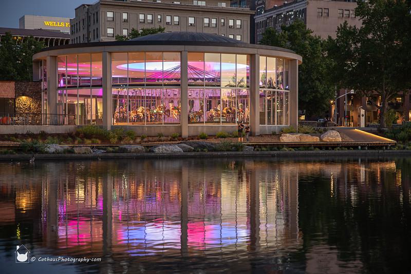 Spokane's Looff carousel