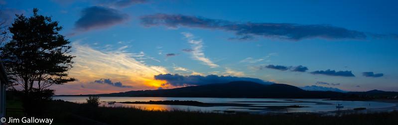 Sunset at Sandgreen