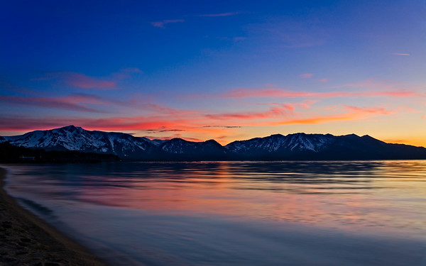 Majestic View From Lakeside Beach Tahoe