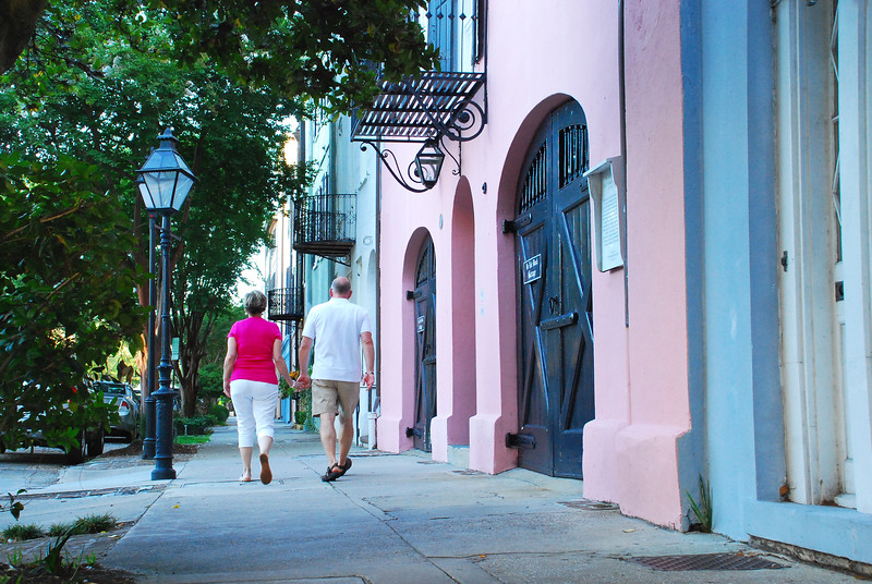 Rainbow Row Charleston SC